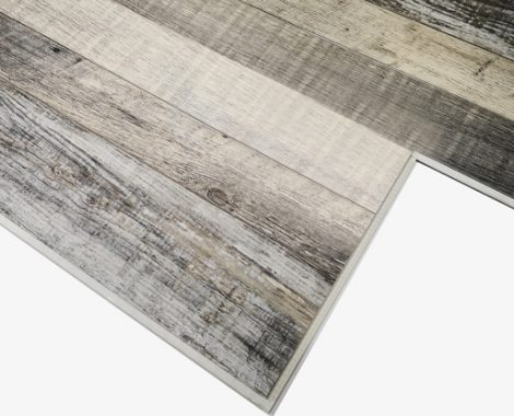SPC flooring sample with lock