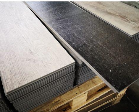SPC flooring size