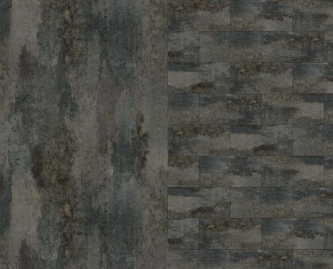 Stone decorative layer for floor