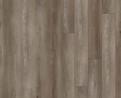 Woodgrain decorative layer for LVT